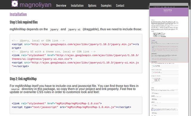 Magnoliyan MiniMap Screenshot