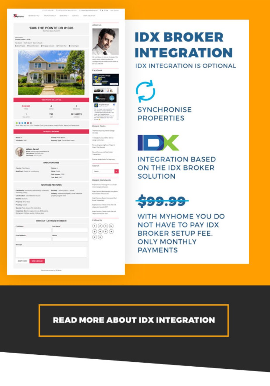 MyHome Real Estate WordPress - 7