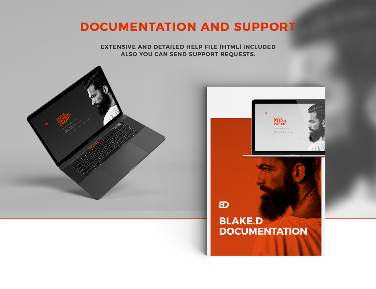 BlakeD - Portfolio & Resume Template - 17
