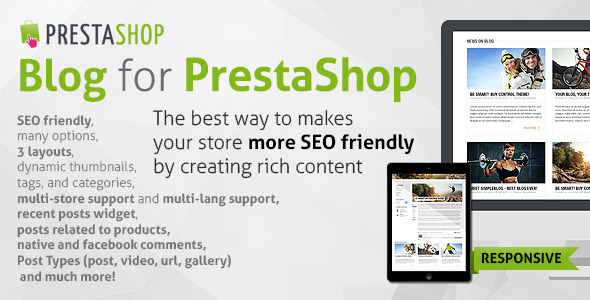Control - PrestaShop Theme Responsive + Included Blog - 3