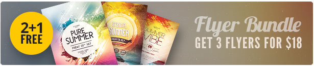 Summer Flyer Bundle Vol11