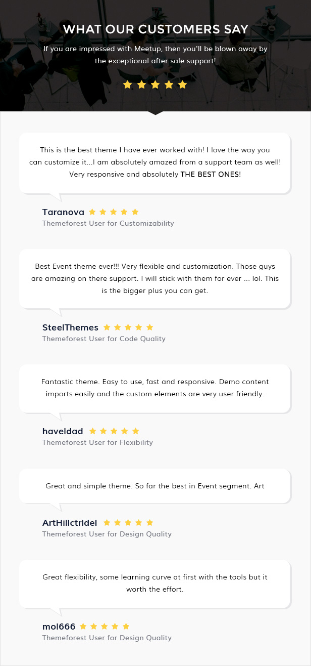 Meetup - Conference Event WordPress Theme - 4