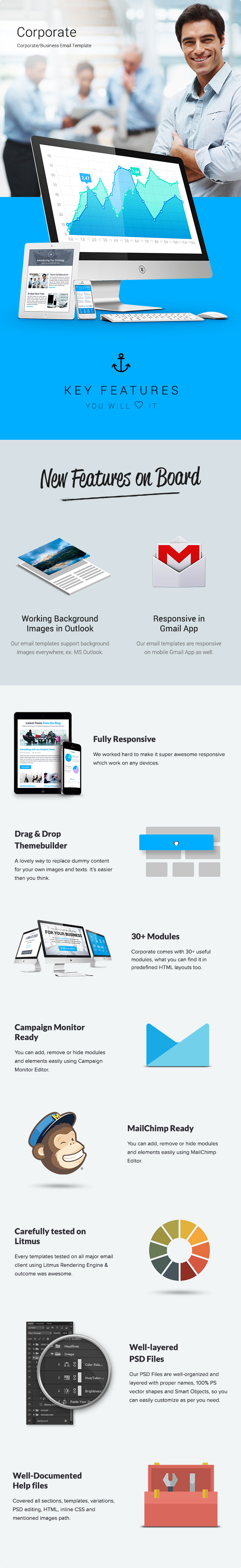 Corporate - Multipurpose B2B E-newsletter Template