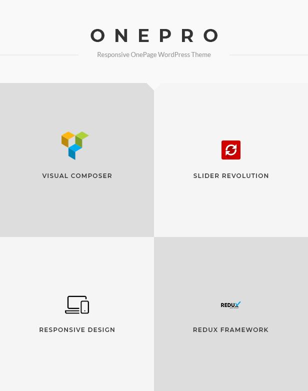 OnePro - Responsive Onepage WordPress Theme - 1