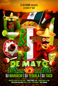 Salsa Party Flyer Template - 9