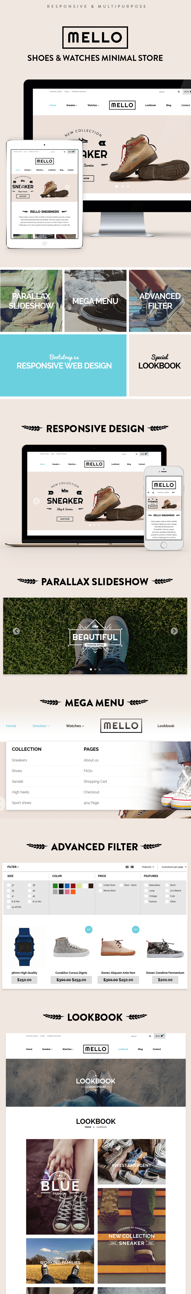 Shopify Theme - Mello