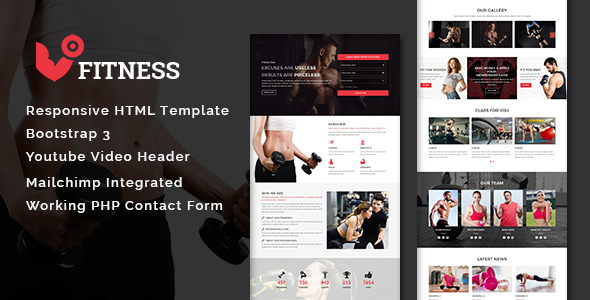 Health - Multipurpose Responsive HTML Landing Pages - 7