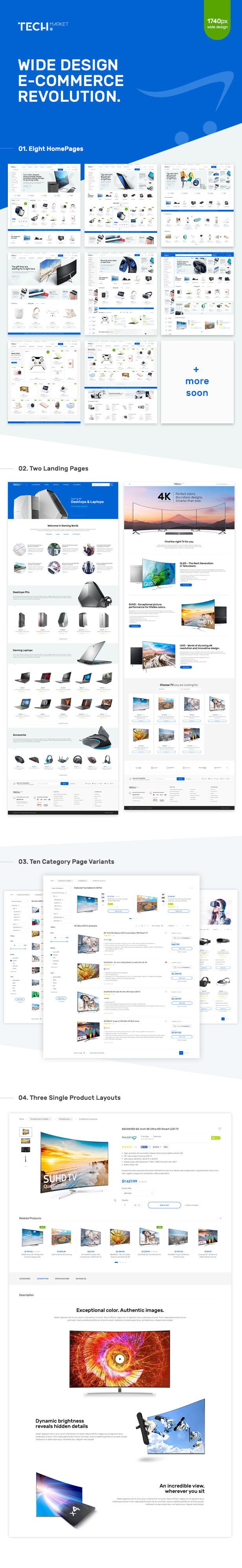 TechMarket - Ultimate Shopify Template - 1