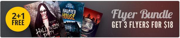 Halloween Flyer Bundle Vol.03