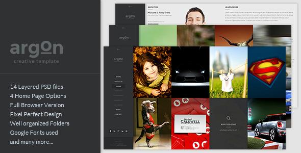 Cobalt - Creative Studio PSD Template - 5