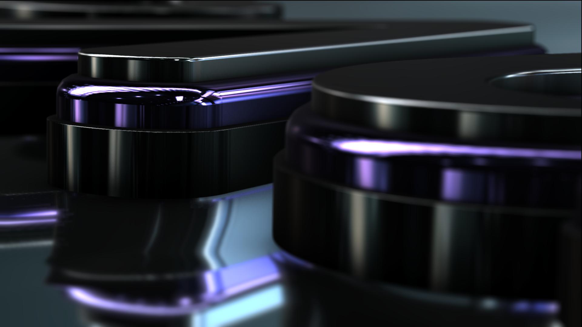 3D Logo Water Motion  - 2