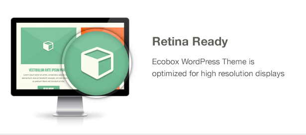 Ecobox WordPress Theme Features: Retina Ready