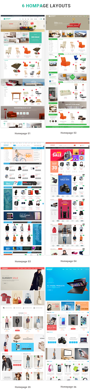 Supershop - Homepage