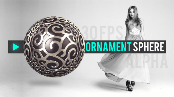 Patterned Sphere - 1