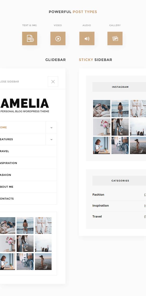 Amelia - Clean Blog & Magazine WordPress Theme + Woocommerce - 6