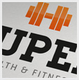 Super Gym Logo Template