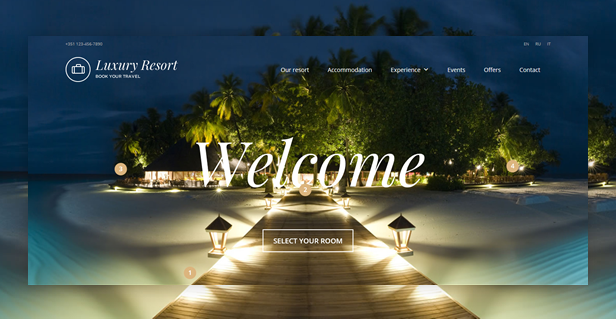 Book Your Travel - Online Booking WordPress Theme - 12