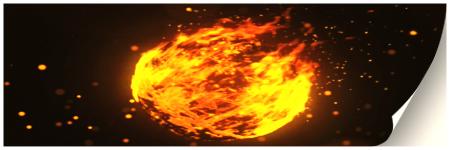 Sphere Fire Logo Reveal V3