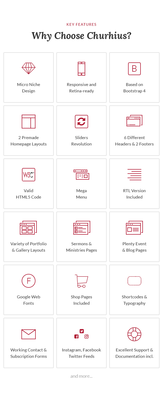 Churhius - Religion HTML Website Template by Monkeysan | ThemeForest