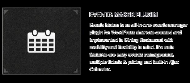 Events Maker Plugin