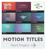Motion Titles Pack