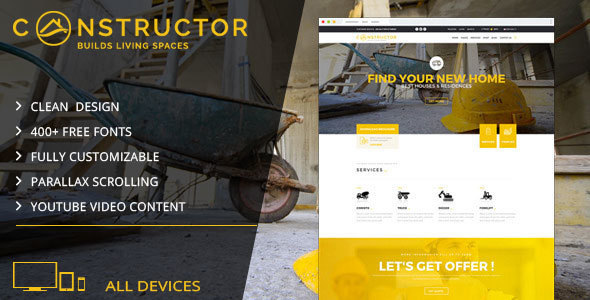 Constructor   Building Company Muse Template