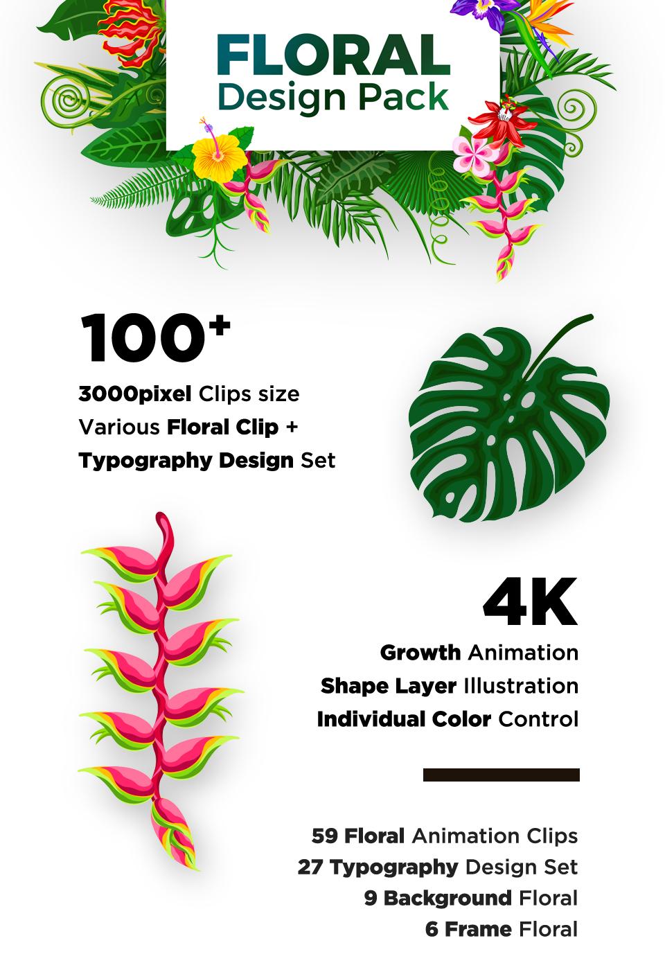 Floral Design Pack - 1