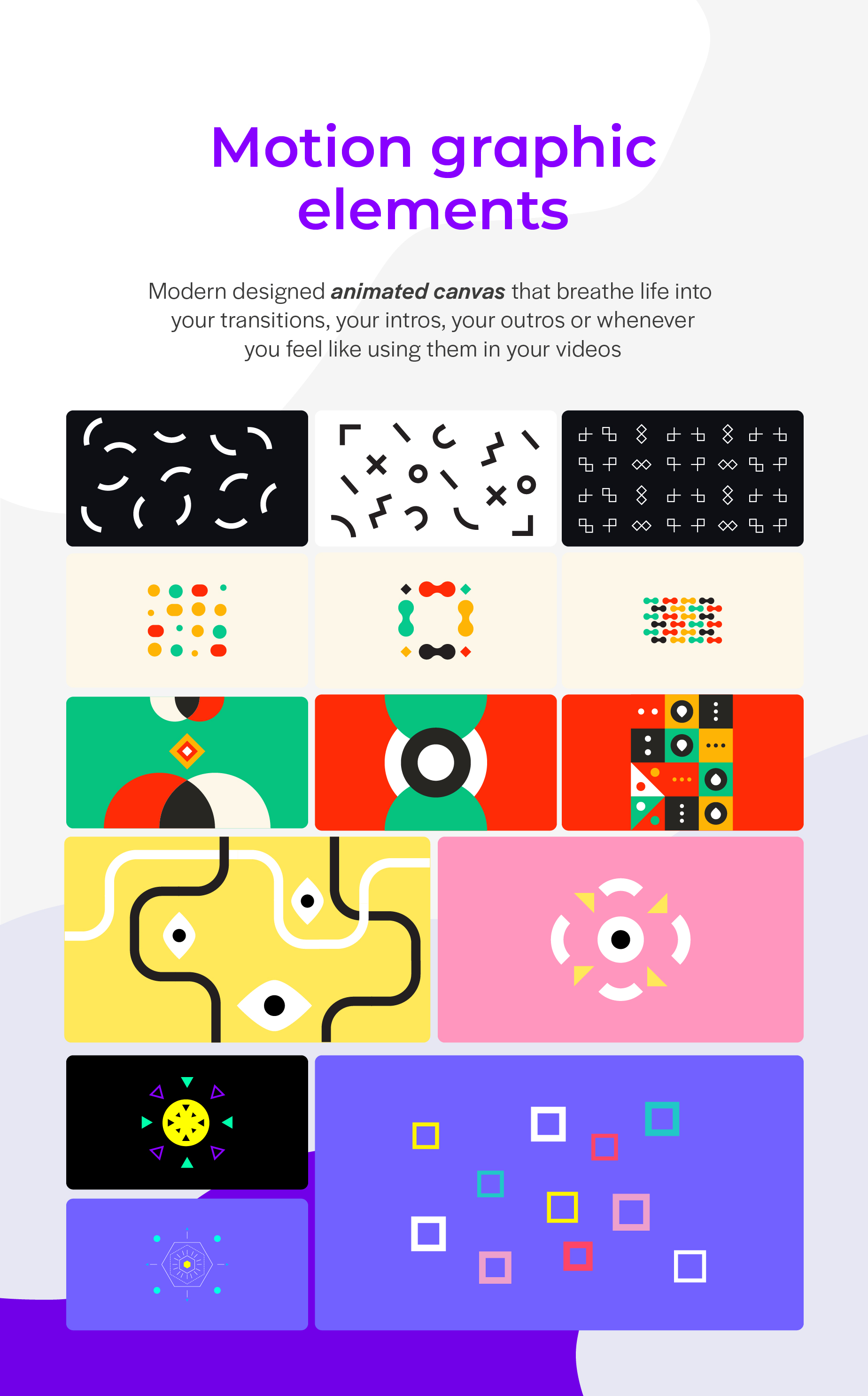 Motion Elements - 4