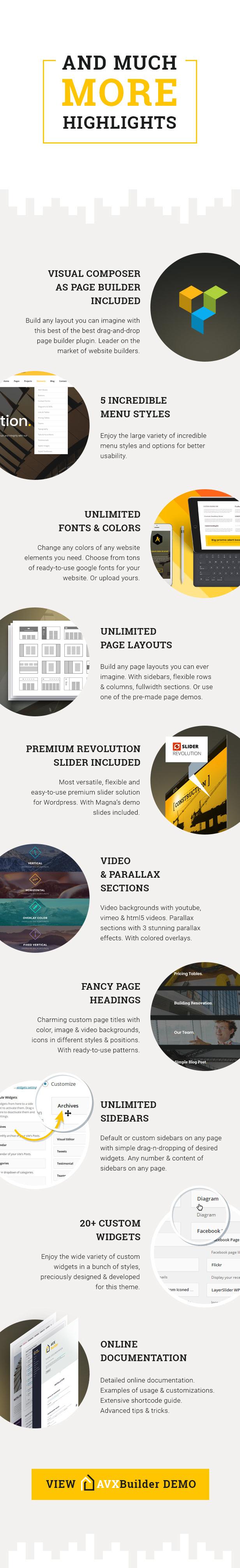 AVXBuilder - Construction Business WordPress Theme - 4