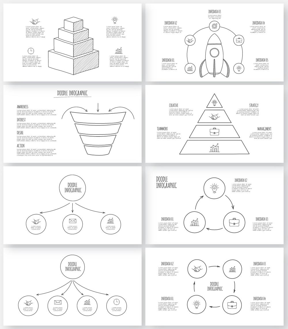 Multipurpose Infographics PowerPoint Templates v.5.0 - 147