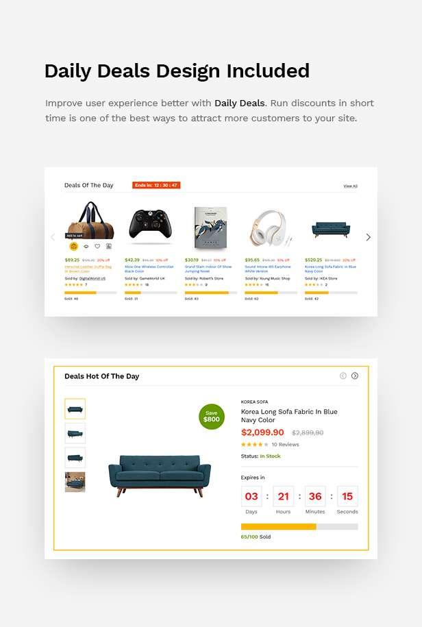 MartFury | Multi-Vendor & Marketplace eCommerce PSD Template - 20