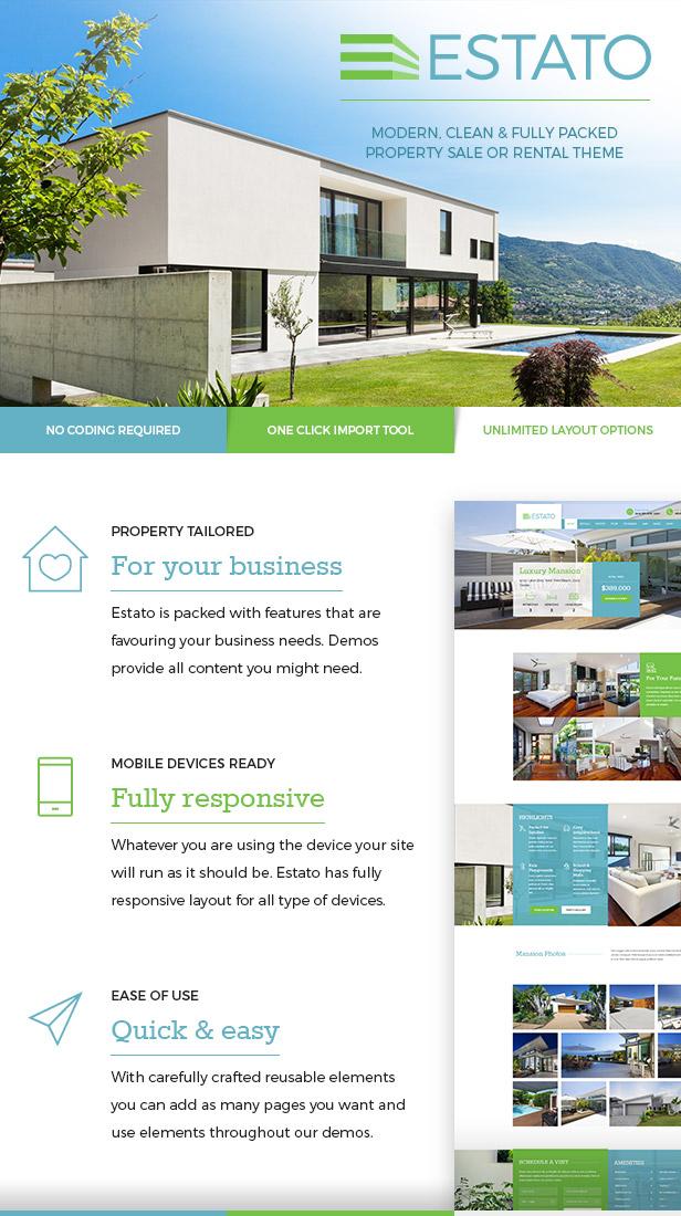 Single Property Real Estate - Estato - 2