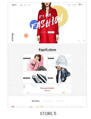fullscreen hero slideshow shopify store