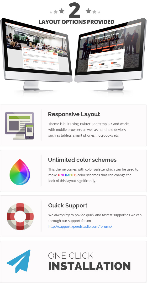 OnEvent - Special Event WordPress Theme - 2