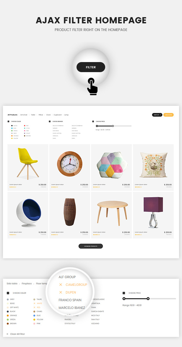 Oritina - Minimal WooCommerce Theme For Furniture, Decor, Interior - 2