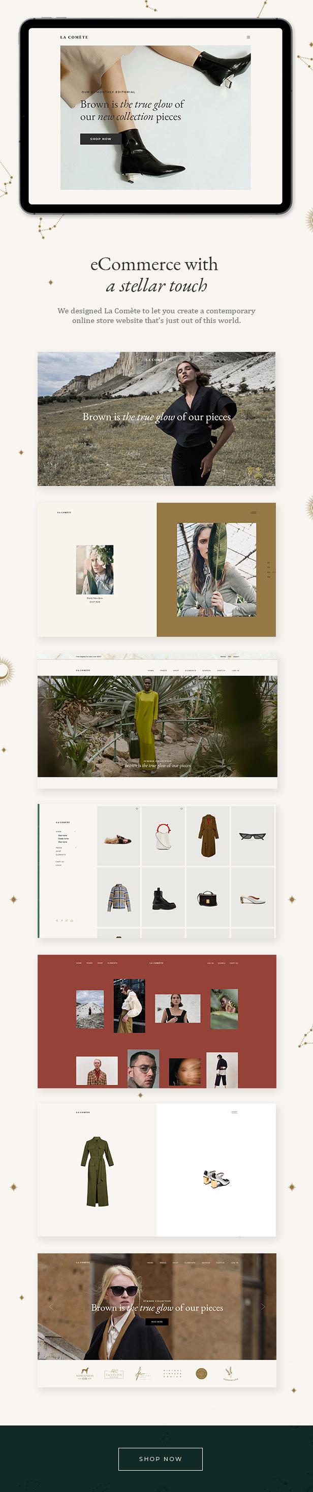 La Comète - Fashion and Clothing Store Theme - 1