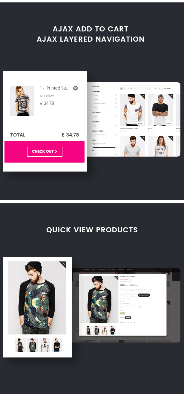 Wenro - Multipurpose Prestashop 1.6, 1.7 Theme - 16 Homepages Fashion, Furniture, Digital and more