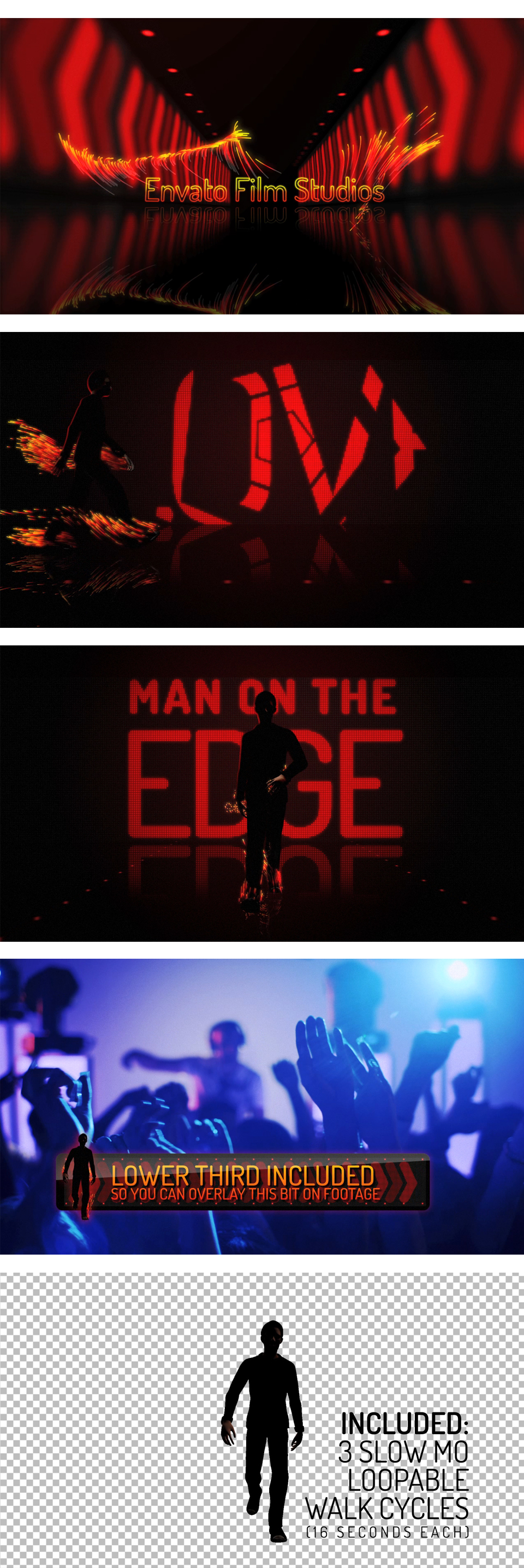 Intense Action Trailer - Man On The Edge - 1