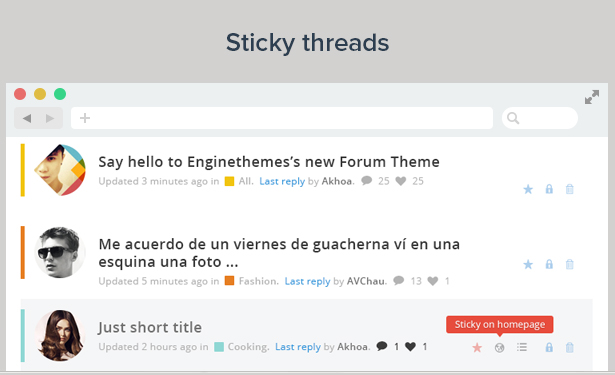 Forumengine Flat Responsive Wordpress Forum Theme By Enginewpthemes
