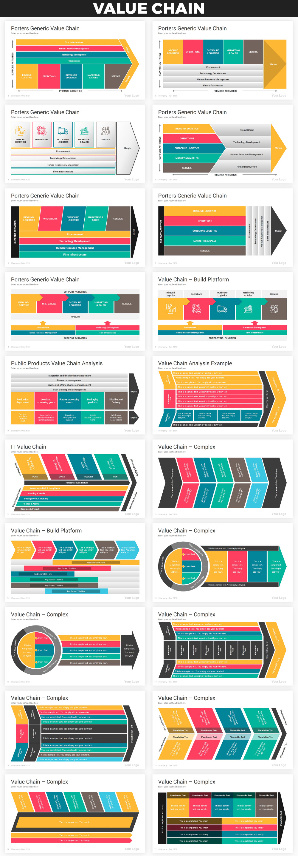 Infographics PowerPoint Bundle - 19