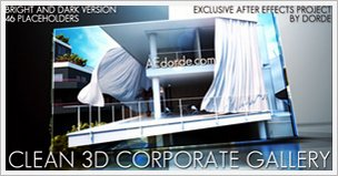 Clean 3D Corporate Gallery