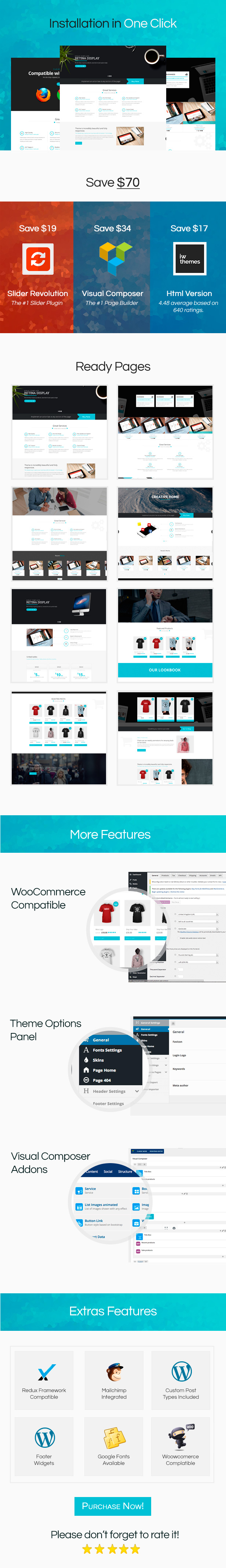 Software WordPress Theme - Roker