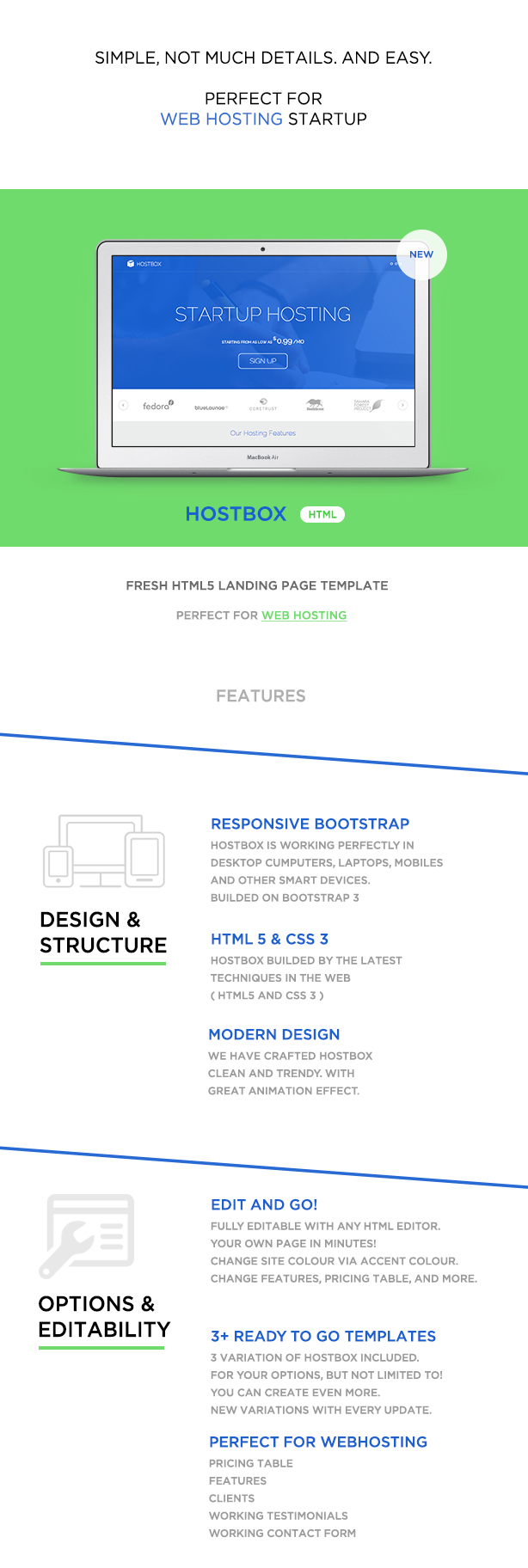 Hostbox WHMCS & HTML5 Landing Page - 4