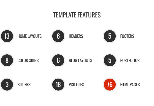 Stability HTML Template Features