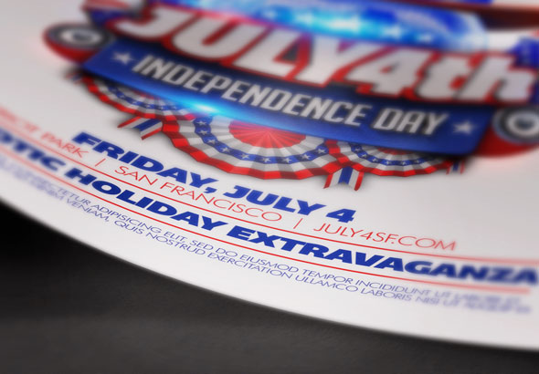 July Th Independence Day Flyer Template By DesignCloud