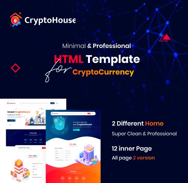 cryptohouse html template