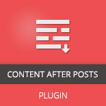 Content After Post WordPress Plugin