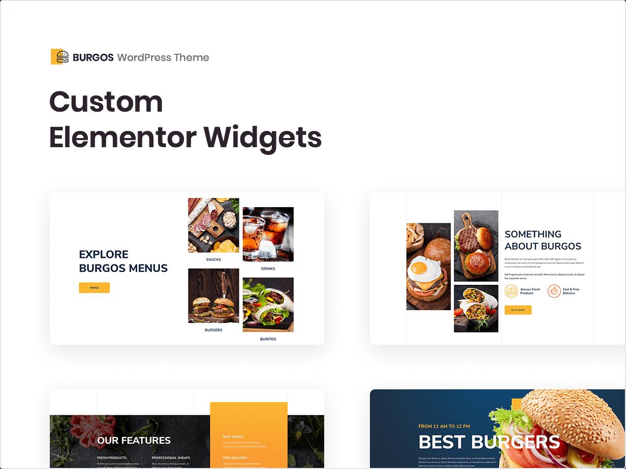 Burgos - Street Food WordPress Theme by rayoflightt   ThemeForest