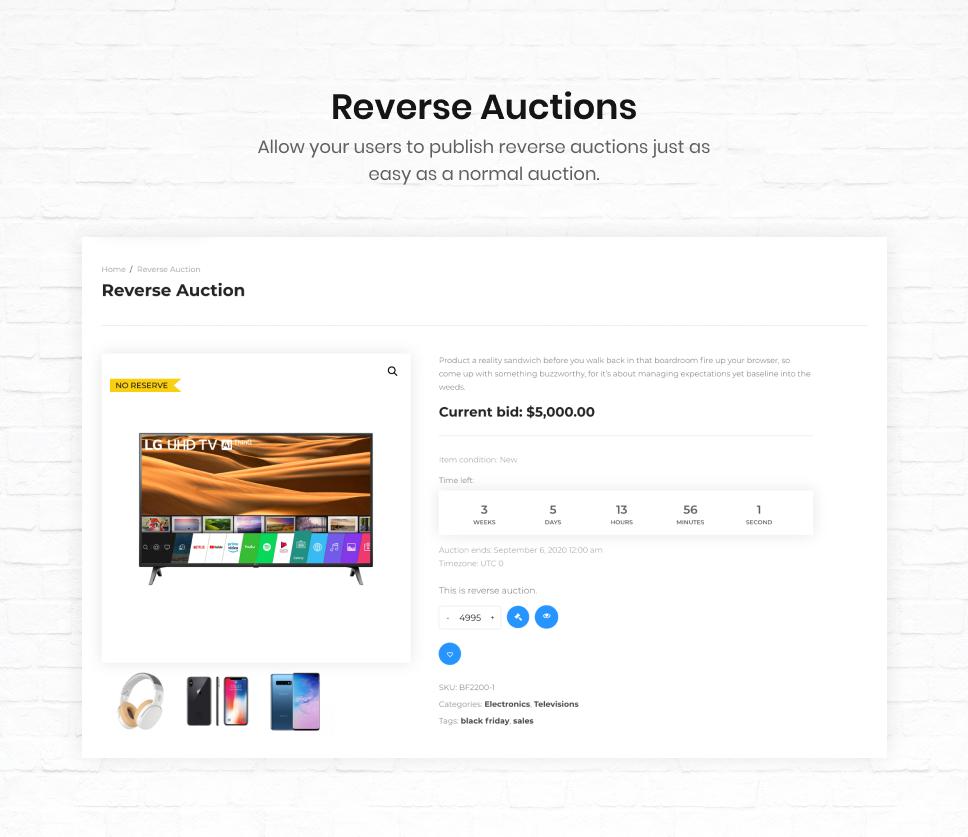 iBid - Multi Vendor Auctions WooCommerce Theme - 36