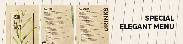 Cocktail Drinks Menu - 13